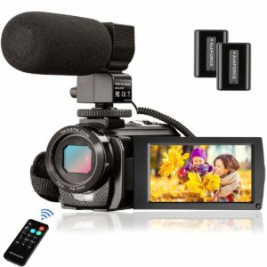 YouTube 1080P 24.0MP LCD 3.0 Inch Camcorder